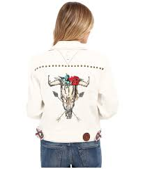 Double D Ranch Clothing Double D Ranchwear El Torero Jacket In White Lyst