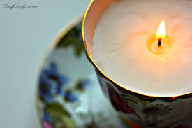 tea cup candle how to make teacup candles budget savvy