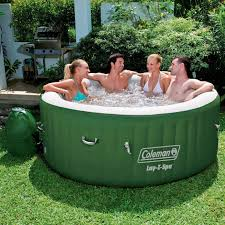 Jacuzzi Price Amazon Com Coleman Lay Z Spa Inflatable Tub Patio Lawn