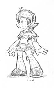 robot sketch by rongs1234 on deviantart
