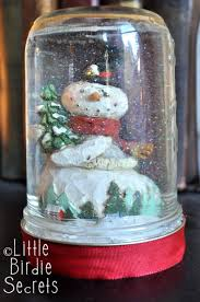 how to make snow globe little birdie secrets