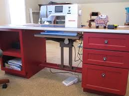 Cheap Sewing Cabinets Build Your Own Sewing Table Diy Everything Pinterest