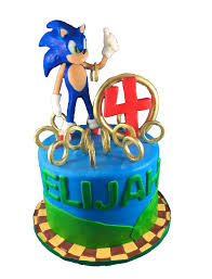 sonic cake topper sonic the hedgehog supersonic sonic cake cake and