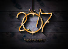 2017 happy new year restaurant menu template background stock