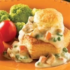 cuisine recette vol au vent au poulet express recettes cuisine et nutrition