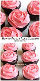 how to make roses on your cupcakes with frosting party ideas