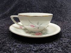 bond china pompadour two bond china pompadour teacup saucer sets l m 2