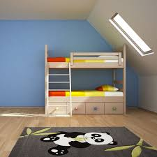 two floor bed bedroom uber panda cool rugs with two floor bed wooden