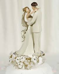 vintage cake topper vintage pearl wedding cake topper wedding collectibles