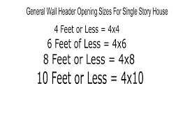 standard measurement of house plan window and door header sizes structural engineering and home
