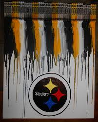 chairs used chairs for sale home chair decoration steelers inspired melted crayon painting