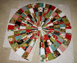 quilted tree skirt pattern patchwork