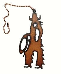 decorative ceiling fan pulls western home decor rustic metal cowboy decorative ceiling fan pull