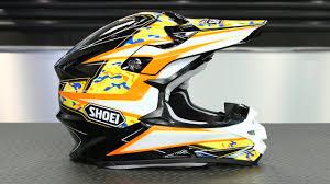 shoei motocross helmet shoei vfx w turmoil helmet motorcycle superstore youtube