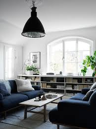 Navy Blue Sofas by Deep Blue Hues And An Interior Window Decordots Deep Blue