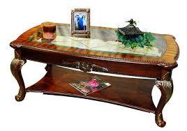 Cherry Wood Coffee Table Cherry Wood Coffee Table With Glass Top U2014 Carolina Accessories U0026 Decor
