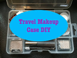 travel makeup case diy quick easy u0026 cheap youtube