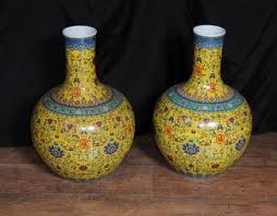 Chinese Hand Painted Porcelain Vases Hand Painted Porcelain Porcelain Pottery