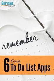 Best Organizational Apps 25 Best Ideas About To Do Liste App On Pinterest Apps Gegen