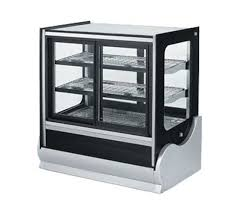glass counter display cabinet vollrath cubed glass countertop refrigerated display cabinet 40887