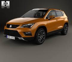 seat ateca 2016 seat ateca 2017 3d model hum3d