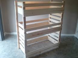 3 Kid Bunk Bed Buy Order U0026 Customize A Crib Size Toddler Bunk Bed By Lil Bunkers