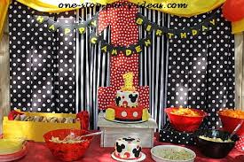 mickey mouse birthday party mickey mouse birthday
