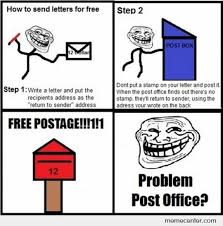 How To Post A Meme - how to send letters for free by zetron x meme center