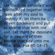 praying against the enemy cheryl cope