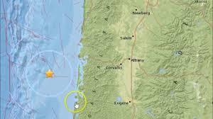 Oregon Tsunami Map by Earthquake M3 8 Off The Coast Of Waldport Oregon Youtube