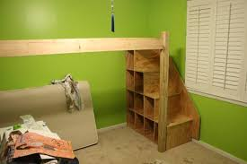 How To Make A Loft Bed Frame Diy Loft Bed Frame Pictures Reference