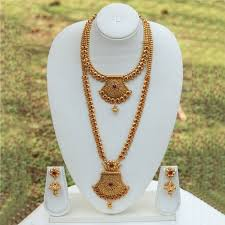 necklace set images images Buy le0000000224 latest maroon necklace set online from look ethnic jpeg