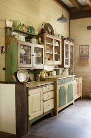 cottage kitchen furniture best 25 vintage kitchen cabinets ideas on country