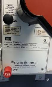 ge power break tpyy5616 1600 amp molded case switch tpyy 5616
