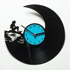 amazon com unique kitchen wall clock mermaid clock for home