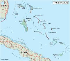 bahamas on map bahamas political map eps illustrator map our cartographers
