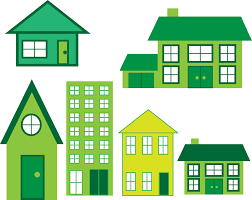 Free Green by Houses Green Energy Concept Free Stock Photo Public Domain Pictures
