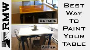what is the proper way to paint kitchen cabinets how to paint a kitchen table make it last