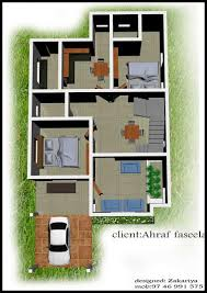 home design for 1200 square feet 2 bhk contemporary style home design at 1200 sq ft interior home plan