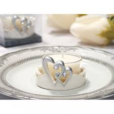candles and favors wedding candle favors two hearts linked