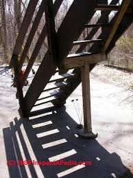 porch u0026 deck stair construction how to build exterior stairs
