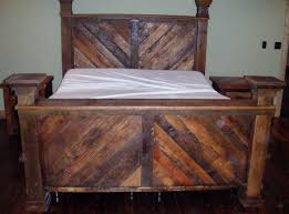 King Size Beds King Size Bed Made From Barn Wood By My Husband I Love It For