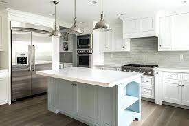 gray and white kitchen cabinets grey kitchen backsplash white kitchen cabinets with gray brick tile