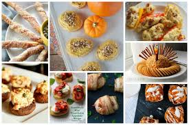 the thanksgiving appetizer recipes delicious dishes
