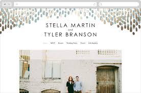 wedding websites easy modern wedding websites