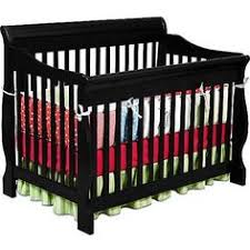 Brookline Convertible Crib On Me Synergy 5 In 1 Convertible Crib Black Toddler Bed