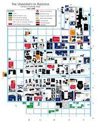 Map Of U U Of Arizona Map 28 Images Heritage Trees On The Ua Cus Of
