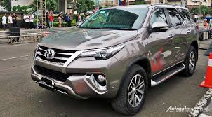 fortuner first impression review toyota fortuner 2016 indonesia autonetmagz