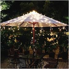 Patio Umbrella Lighting Patio Umbrellas With Solar Powered Lights Elegantly Erm Csd