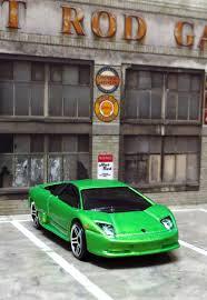 Lamborghini Murcielago Green - garagem wheels lamborghini murciélago
